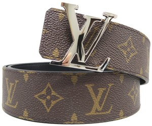 Louis Vuitton Louis Vuitton Monogram Reversible Initiales 38MM Belt
