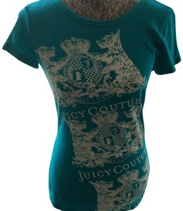 Juicy Couture T Shirt Turquoise/Green