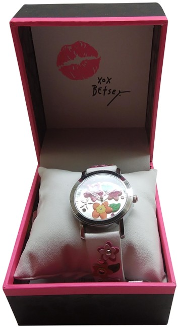 Item - White New Multi-floral Watch