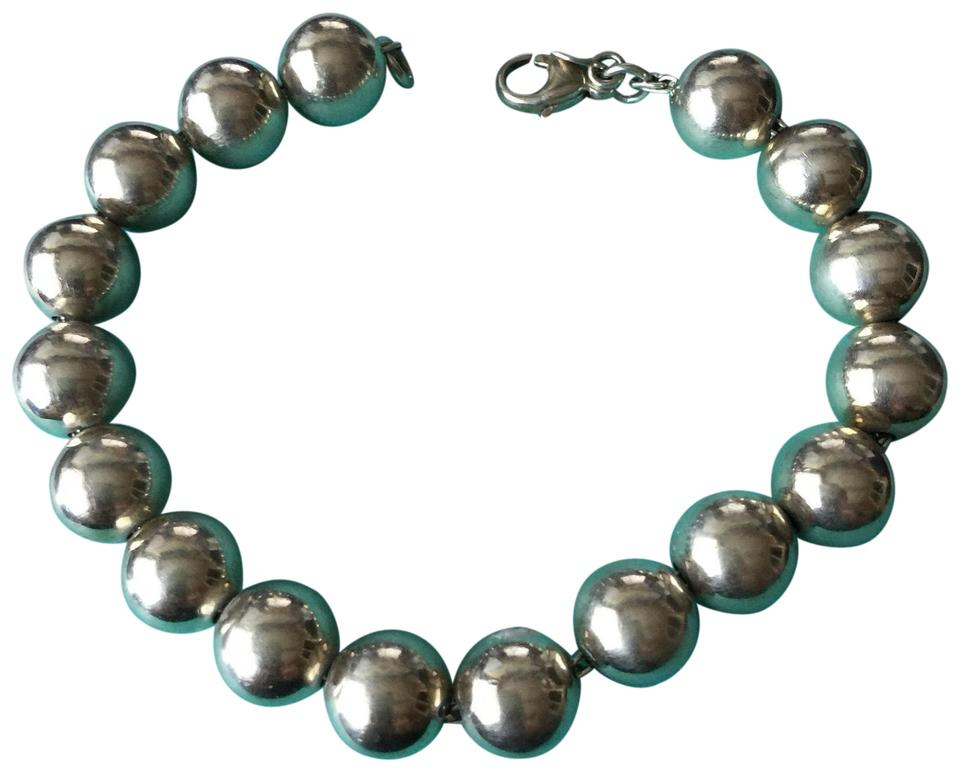 a0fbc3cd6 Tiffany & Co. Silver 10mm Bead Beads Ball 7.5