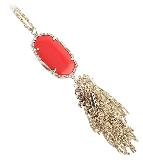 Kendra Scott Red Gold Rayne Bright Necklace Kendra Scott Red Gold Rayne Bright Necklace Image 1