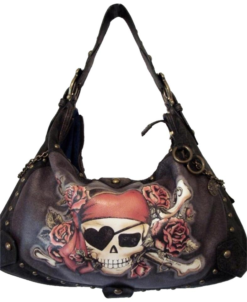 e6de72d405 Isabella Fiore Skull Rose Tattoo Pirate