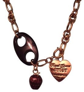 Juicy Couture Royal Couture Long Charm Necklace
