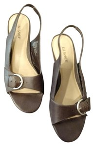 Liz Baker Leather Open Toe Genuine Leather Comfortable Brown Sandals
