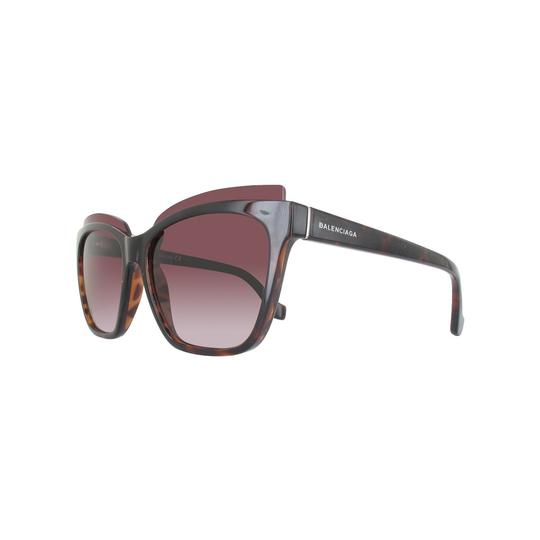 Balenciaga New Balenciaga Square Sunglasses BA93 52T Dark Havana 58mm BA0093