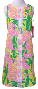 Lilly Pulitzer short dress Fan Dance Summer Classic Shift on Tradesy