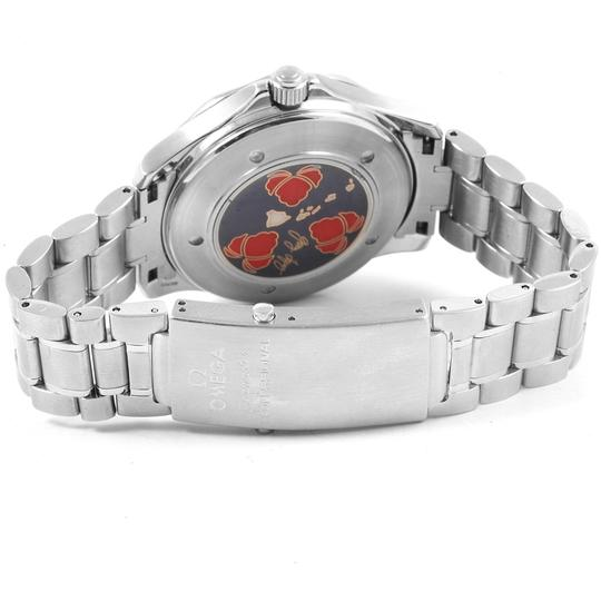 Omega Omega Seamaster GMT Gerry Lopez Limited Edition Watch 2536.50.00 Box