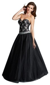 MADISON JAMES Prom Pageant Ball Gown Strapless Dress