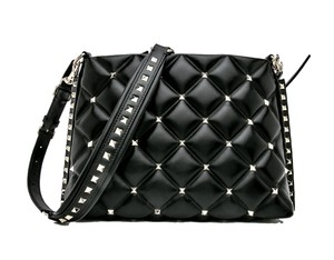 Valentino Studded Leather Shoulder Bag