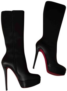 Christian Louboutin Leather Black Boots