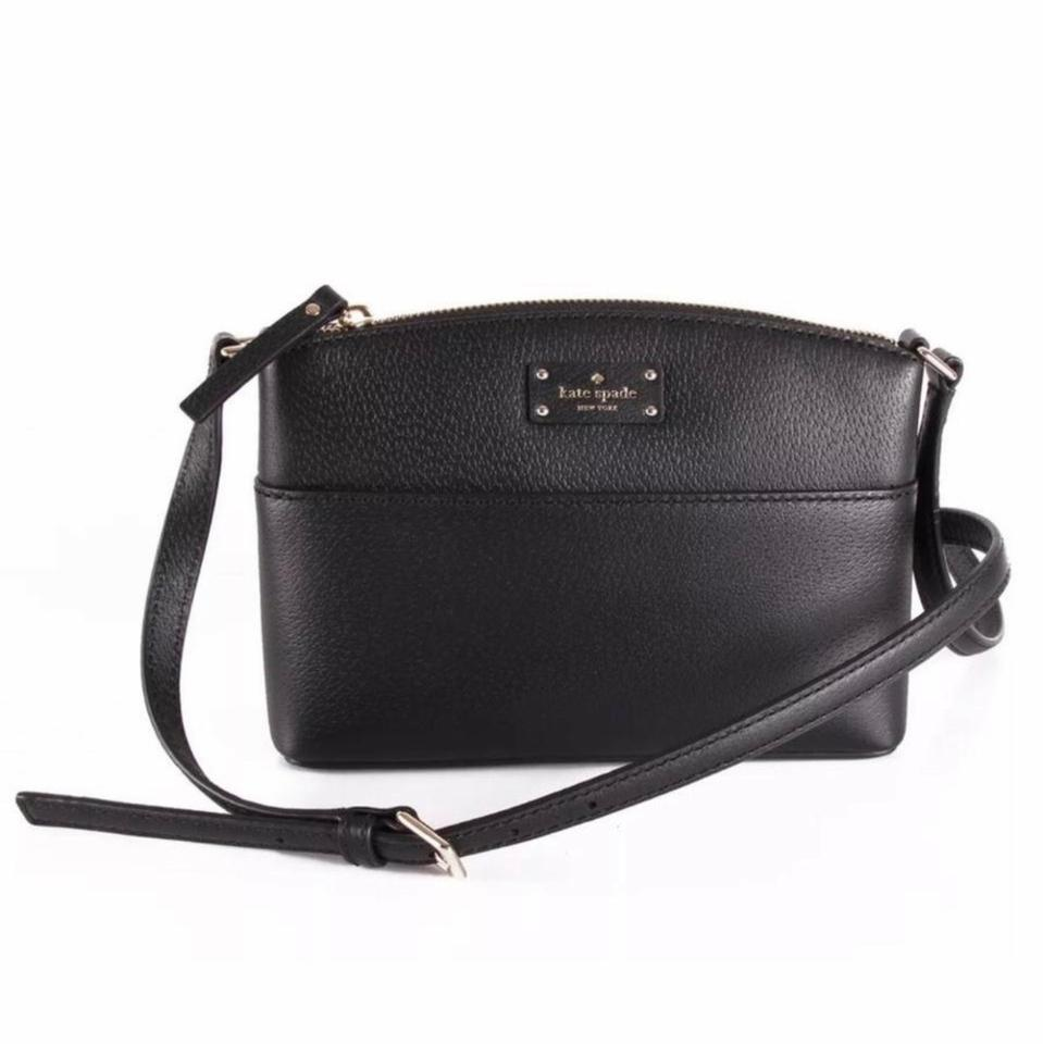 afd3e6890 Kate Spade Leather New with Tag Black Cross Body Bag - Tradesy