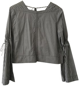 Derek Lam Top Black White