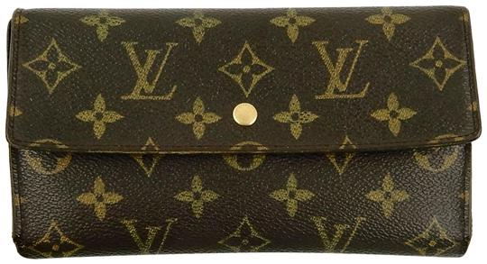 Preload https://img-static.tradesy.com/item/24640919/louis-vuitton-brown-international-monogram-canvas-leather-long-clutch-wallet-0-1-540-540.jpg