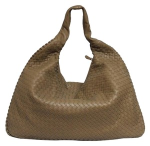 Bottega Veneta Maxi Nappa Leather Hobo Bag