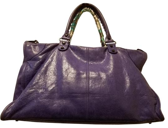 Balenciaga Satchel in purple Image 2