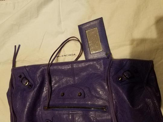 Balenciaga Satchel in purple Image 4