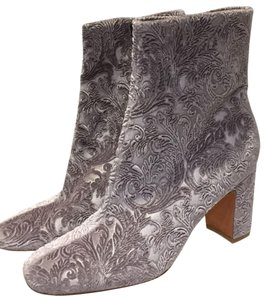 Marc Fisher Silver Boots