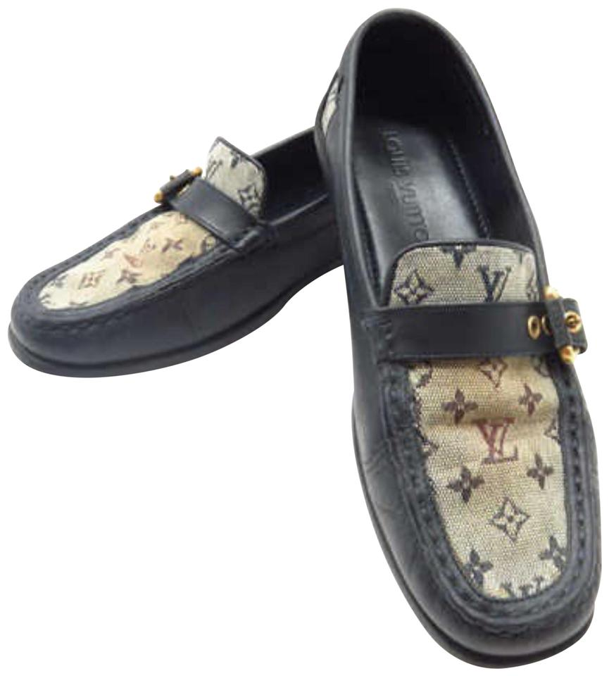 a99f63dee61 Louis Vuitton Mocassin Moccasin Loafer Driving Boat Navy Boots Image 0 ...