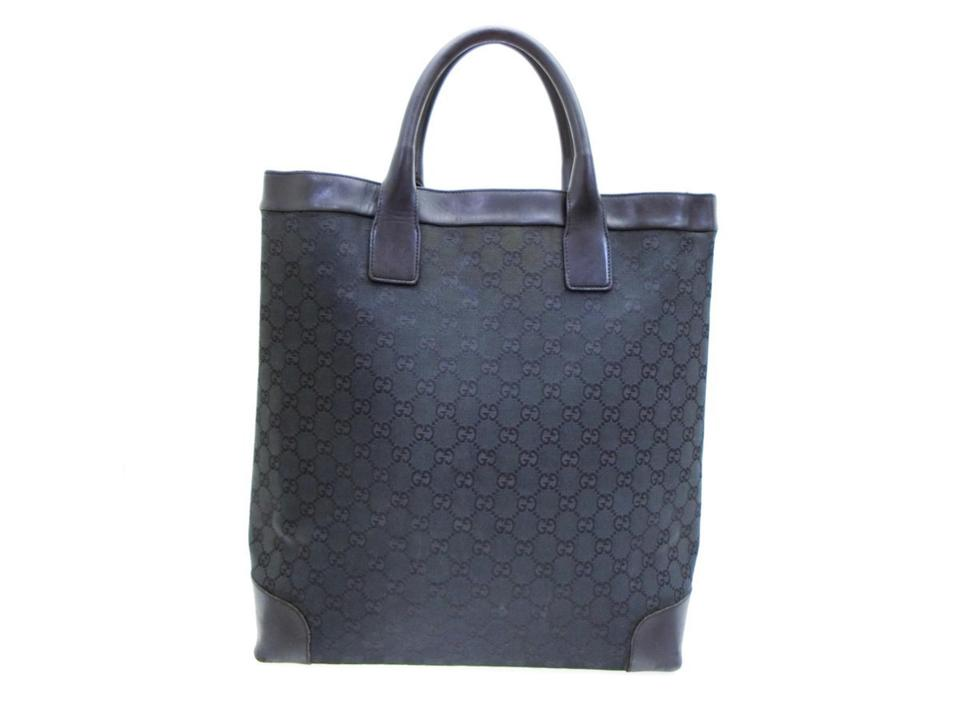 d46b658308ef Gucci Signature Shopper Shopping Large Tote in Black Image 0 ...