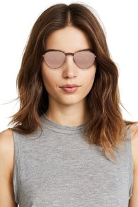 555255609f Le Specs Rose Brown Hot Stuff Edition Sunglasses - Tradesy
