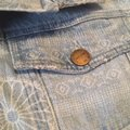 Current/Elliott Blue The Rolled Trucker Jacket Size 8 (M) Current/Elliott Blue The Rolled Trucker Jacket Size 8 (M) Image 5