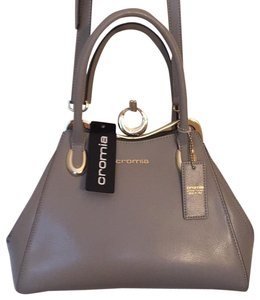 Cromia Satchel in Taupe
