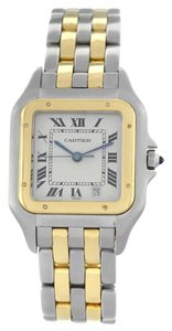 Cartier Ladies Cartier Panthere 110000R Quartz 27 MM Steel 18K Gold Two Row
