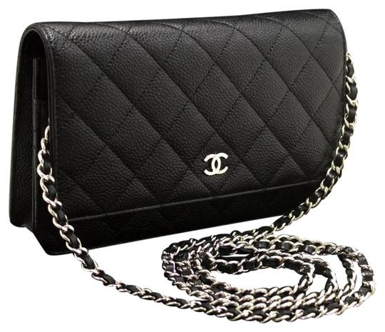 Preload https://img-static.tradesy.com/item/24641937/chanel-wallet-on-chain-black-caviar-leather-cross-body-bag-0-1-540-540.jpg