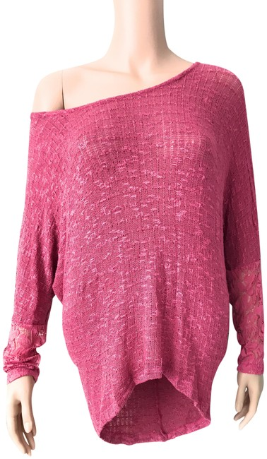 Item - Pink Women's Sweater Blouse Size 6 (S)