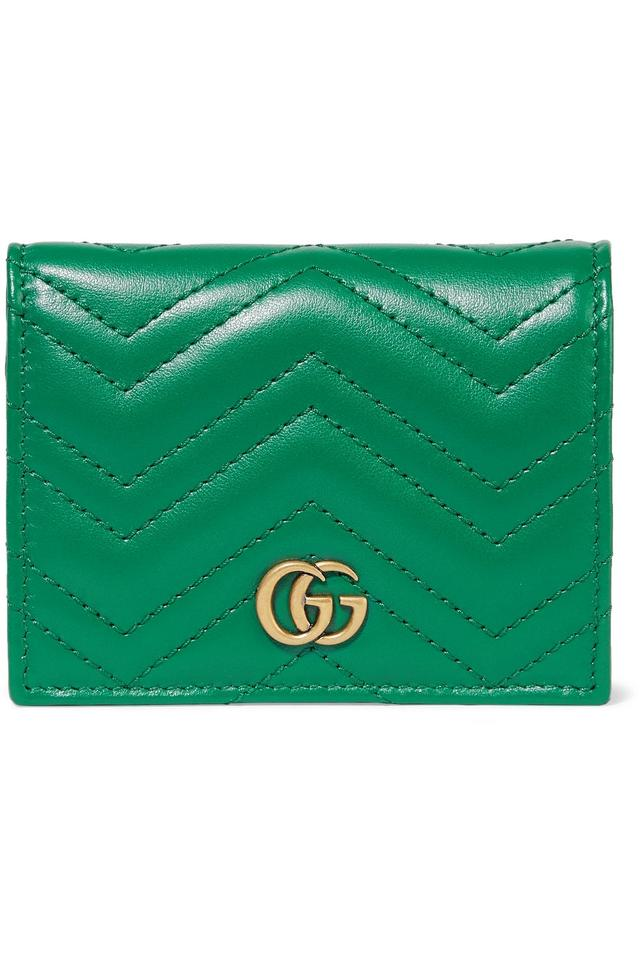 191d27be63acef Gucci GG Marmont small quilted leather wallet Image 0 ...