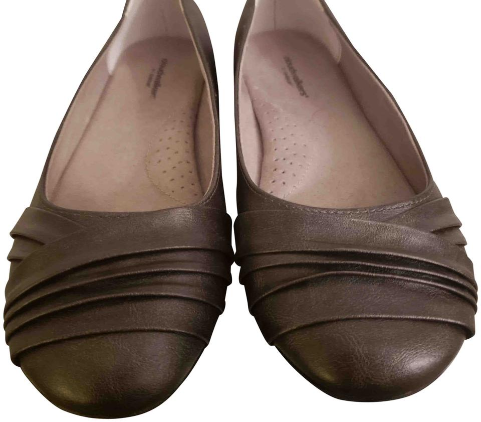 e2279bc6085 Cloudwalkers Bronze Evening Chic Flats. Size  US 9 Wide ...