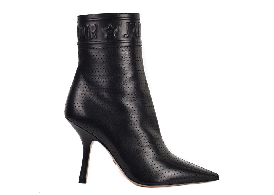 bce6e16e Dior Black Womens Leather Action Heel Ankle C3310 Boots/Booties Size US 6  Regular (M, B) 57% off retail