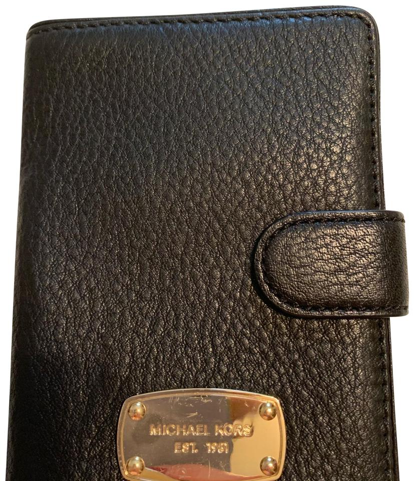 ca8324e5417d6f Michael Kors Black Mk Card Holder Wallet - Tradesy