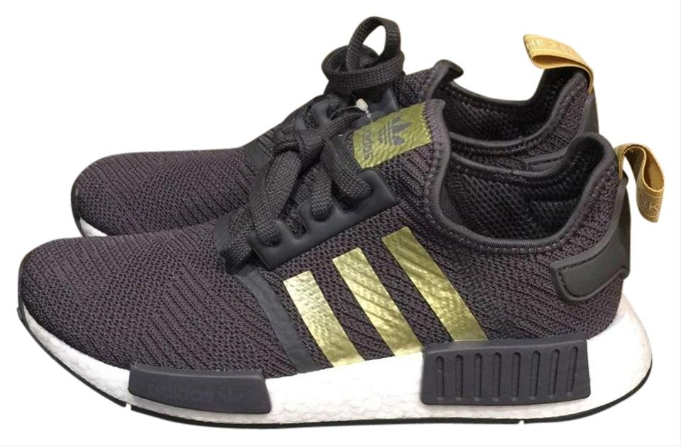 timeless design ef55a be747 adidas Grey/Gold/Pyrite Nmd R1 Sneakers Size US 8 Regular (M, B)