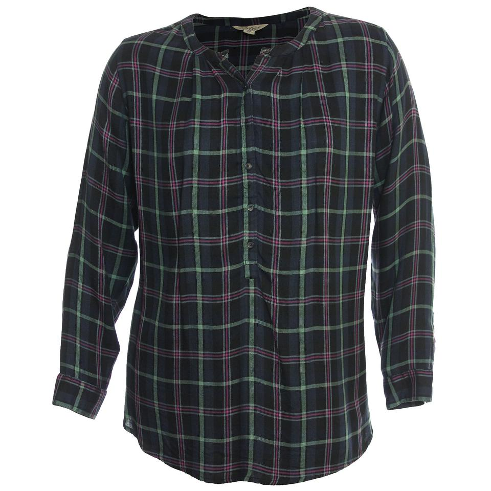 98671683a30a0 Lucky Brand Multicolor 2x Plaid Long Sleeve Shirt Button-down Top ...
