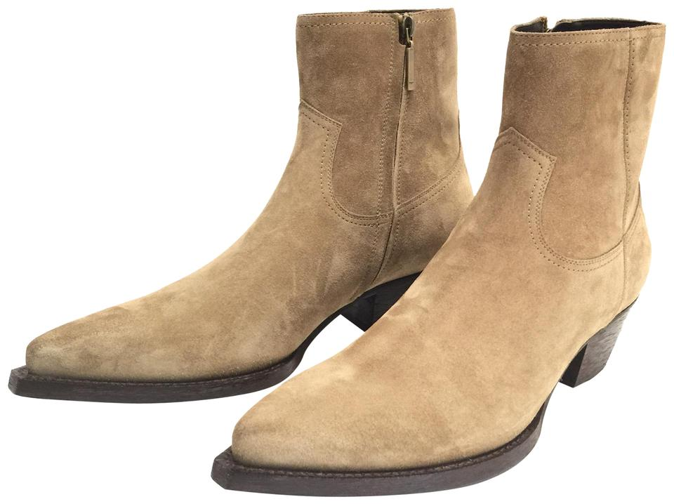 1cf60005760 Saint Laurent New Sigaro Ysl Lukas 40 Zip In Suede Otterproof 46 In Men's )  Boots/Booties