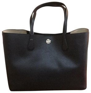 Tory Burch New New Perry Winter New Winter Tote in black