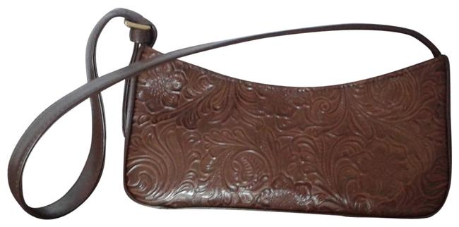 Item - Rn70272/Ca16396 Chocolate Brown Polyvinyl Chloride with Cotton Lining Baguette