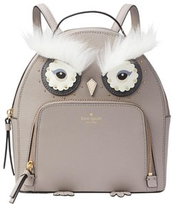 kate spade Small Owl Leather Backpack