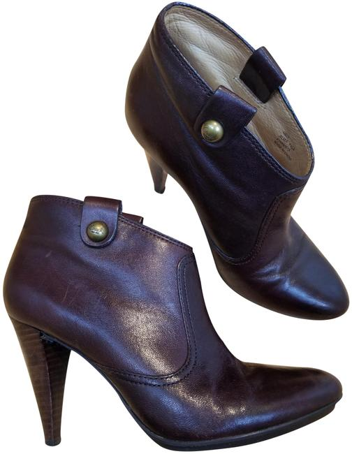 Item - Brown Aliza Leather Chocolate Boots/Booties Size US 7.5 Regular (M, B)