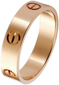 Cartier Rose Gold Love Ring