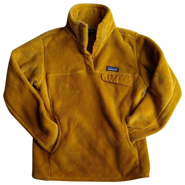 Item - Yellow Re-tool Snap-t Fleece Pullover Activewear Size 8 (M)