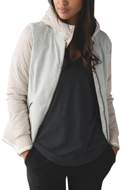 Item - Sand Dune/Heathered Ghost Chilly Bomber Activewear Size 6 (S)