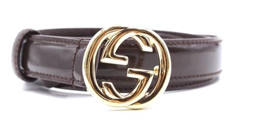 Preload https://img-static.tradesy.com/item/24644161/gucci-26343-dark-brown-gg-gold-buckle-logo-leather-size-70-28-belt-0-0-540-540.jpg