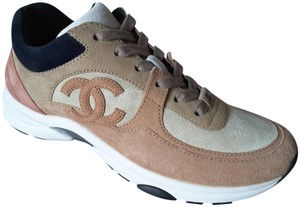 Chanel Sneakers Trainers Runners Brown/Beige Athletic