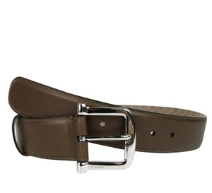 8195f396b Gucci Women's Silver Buckle Brown Leather Belt 281548 2527 (80 ...