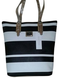 Kenneth Cole Reaction Tote in Black and White