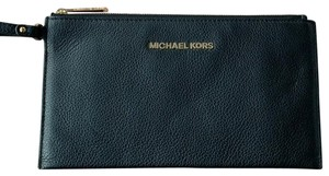 Michael Kors Bedford Leather Zip Clutch