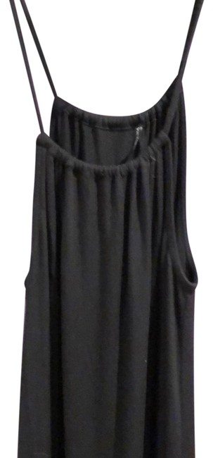 Victoria's Secret Black Long Casual Maxi Dress Size 8 (M) Victoria's Secret Black Long Casual Maxi Dress Size 8 (M) Image 1