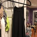 Victoria's Secret Black Long Casual Maxi Dress Size 8 (M) Victoria's Secret Black Long Casual Maxi Dress Size 8 (M) Image 2